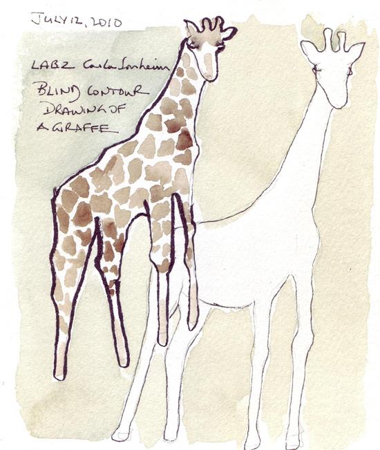 Giraffe.BlindContour.jpg