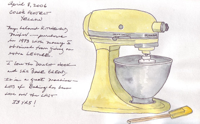 Kitchen Tools Drawings paper and threads: edm challenge #159: draw your favorite kitchen tool