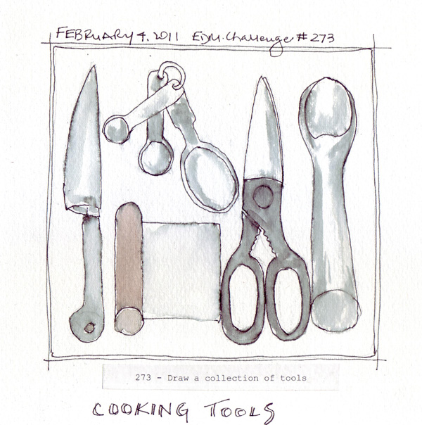 Kitchen Tools Drawings paper and threads: edm challenge archives